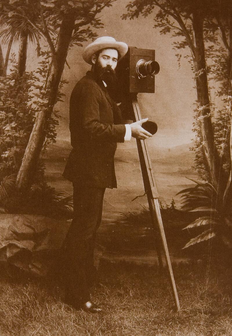 Fotograf um 1870